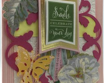 Handmade Greeting Card Birthday #233