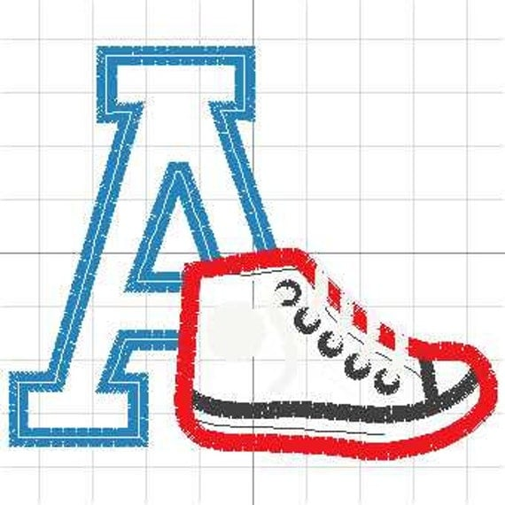 Applique Pattern Fror Tennis Shoe