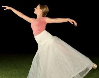 Belle Slip - Ball Gown Petticoat - Crinoline Petticoat - Bridal Slip - Petticoat Slip - A-Line Slip - Petticoat with Hoop - Long Slip