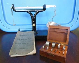Brown & Sharpe Yarn Reels and Scales