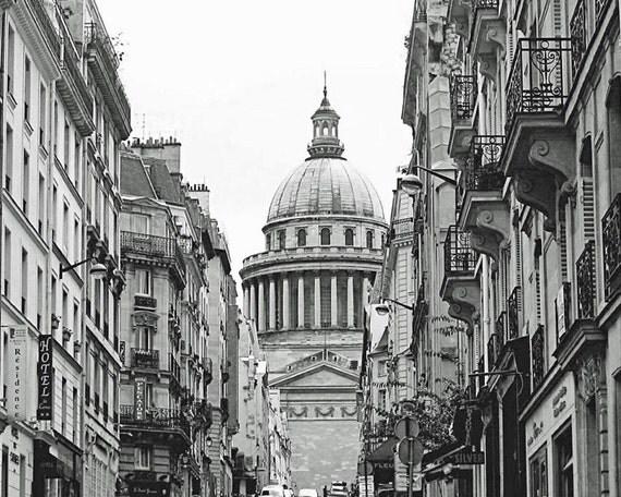 Paris photo noir et blanc impression de photographie paris for Photographie paris
