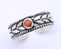 Solid Sterling silver Toe Ring, Knuckle Ring