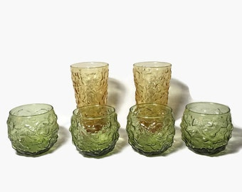 Set of Lido Glasses-Roly Poly and Tumblers