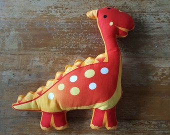 Dinosaur soft toy/cushion 38cm tall x 35cm long