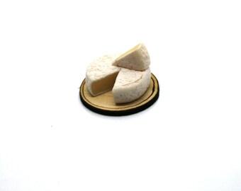 Brie Wheel On Board Dolls House Miniature
