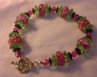 Crystal Watermelon Bracelet B 105