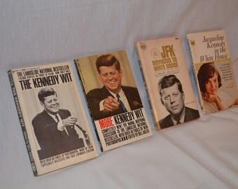 John F. Kennedy Books Circa 1964