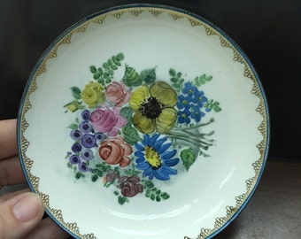 Small Handpainted Dainty Little Saucer From Austria