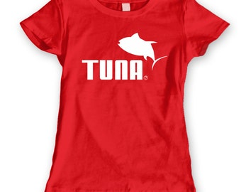 Tuna Tuna Tuna Fish Funny Tuna Fish Fishing Fisherman Women's Jr Fit T-Shirt CL0189