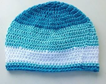 crocheted beanie, handmade beanie hat  slouchy beanie slumpy beanie crochet customized winter hat autum fashion skullcap cap striped stripes