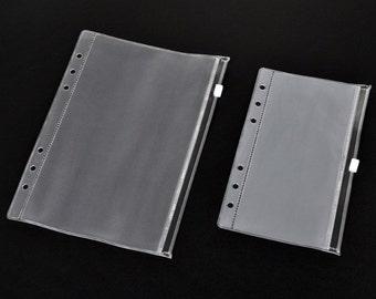 Ziplock envelops voor de filofax