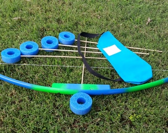 Pvc bows and arrows etsy for Kids pvc bow