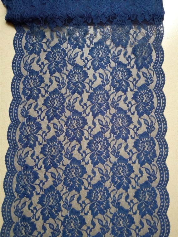 30ft navy lace table runner 12 wedding table for 12 ft table runner