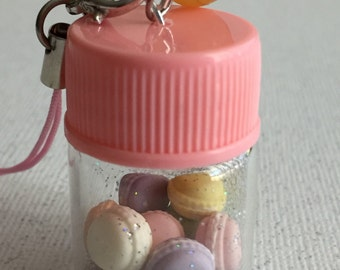 Hand made miniature glass bottles