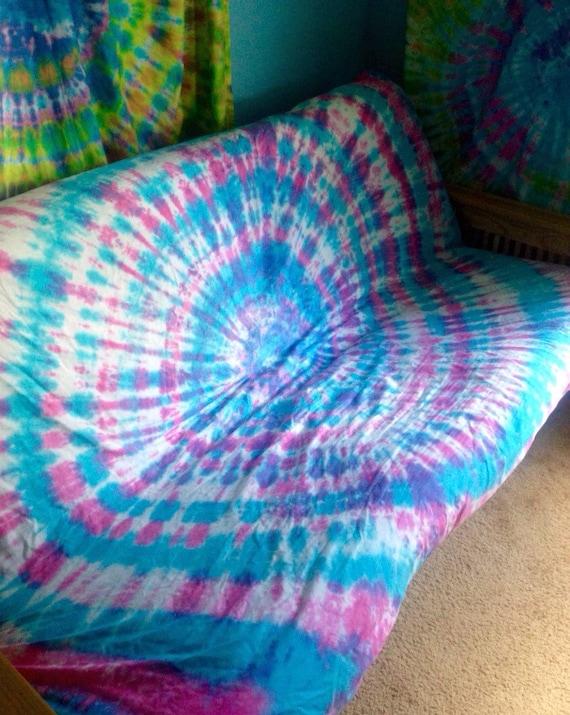 tie dye sheet set 4 piece tie dye sheet set by beachbumtiedye. Black Bedroom Furniture Sets. Home Design Ideas