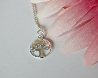 Tree of Life- Sterling Silver- Tree Necklace