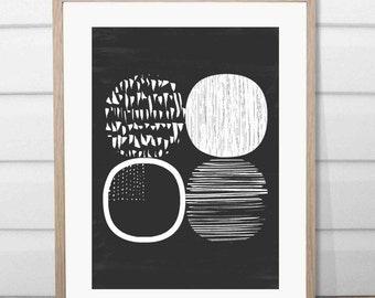 A4 Dot to dot print black and white