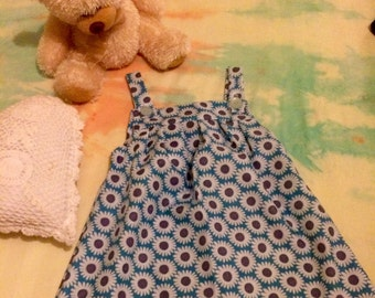 Size 3 Blue Daisy Dress