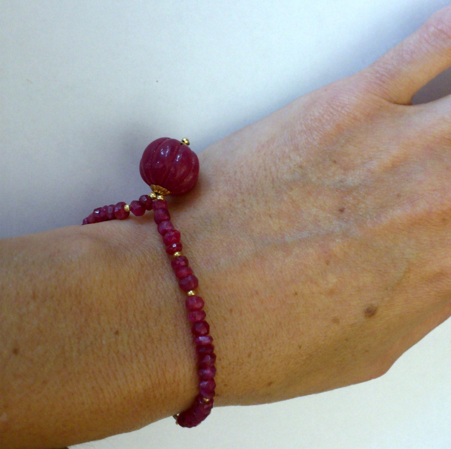 ruby brc oz bly real bracelet vintage product pic wizard