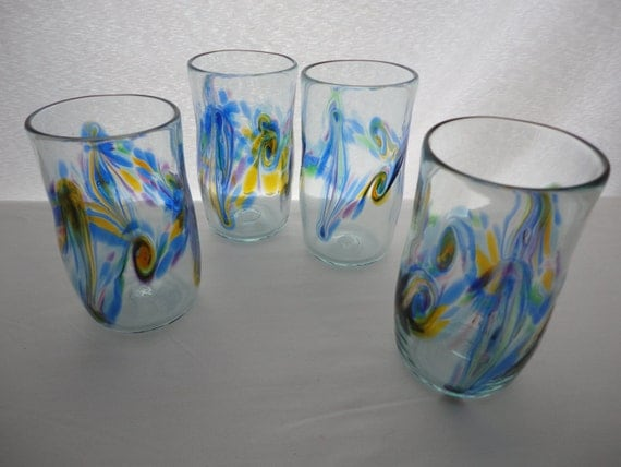 Blown Glass Tumblers. Toronto Color Design by ...