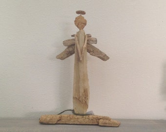 Handcrafted Driftwood Angel