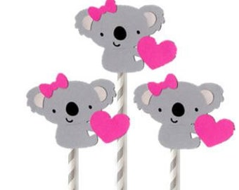 3 pcs Koala Bear Centerpieces