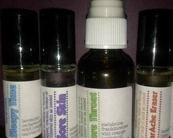 12 Everyday Essential Oil Roller Bottle Blends Printable Workshop & Free Printable Invitation!