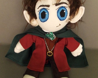 READY TO SHIP Frodo Baggins The Lord of the Rings Plush Doll Plushie Toy