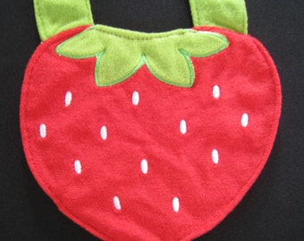 Baby Bib / Juicy Strawberry