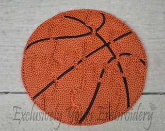 Basketball Puzzle w/Storage Pouch, Quiet Game, Toddler Toy, Travel Toy, Party Favor