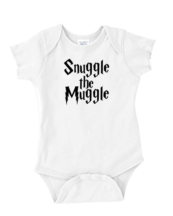 Harry Potter Baby Onesie - Snuggle the Muggle