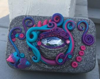 Dragon Eye Tin made from recycled Altoids tin
