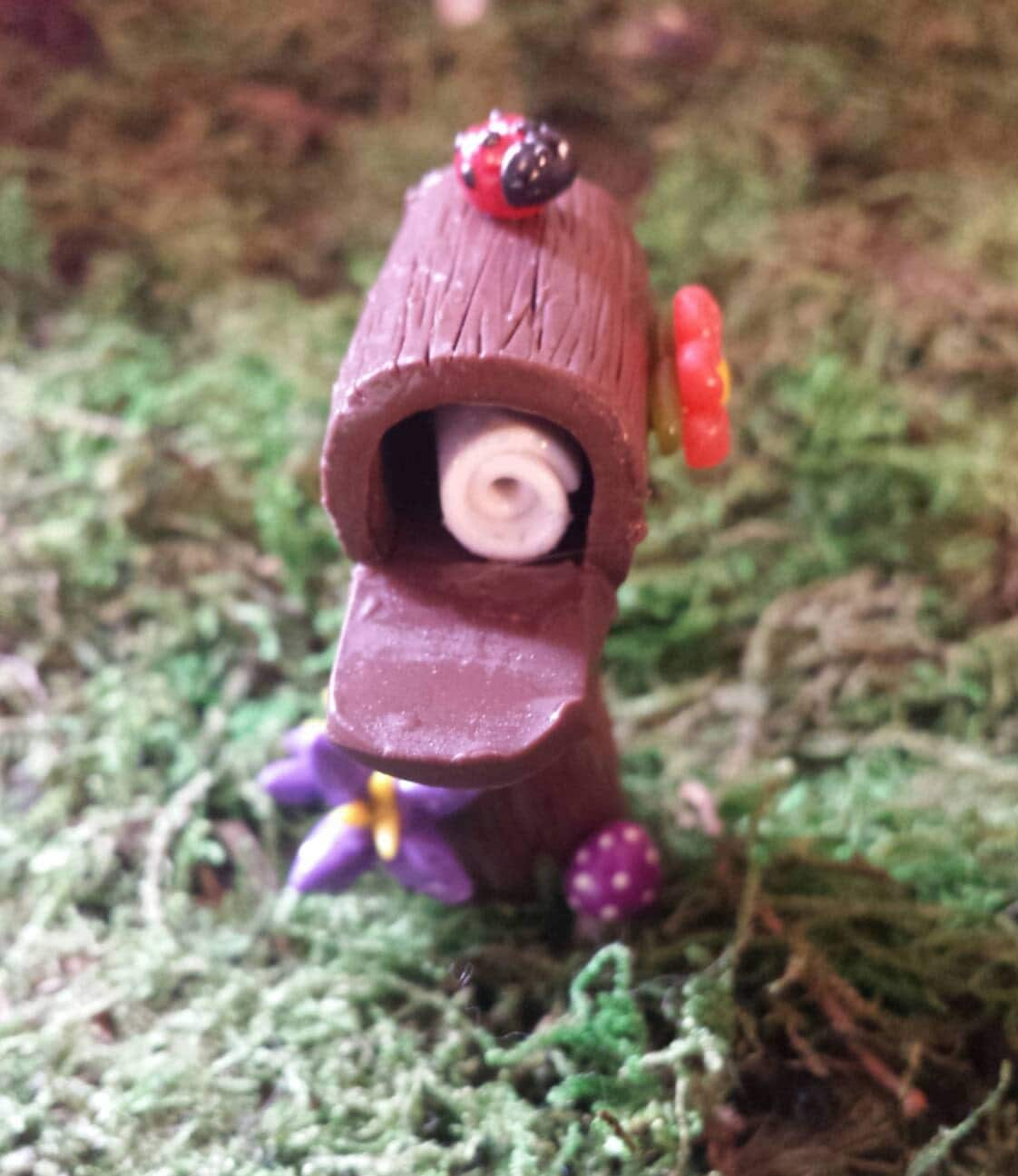 Fairy Garden Accessories Miniature Mailbox By