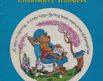 The Berenstain Bears Embroidery Transfers - Home Decor & Accessories Applique Pattern - Applique Embroidery Patterns - Craft Pattern