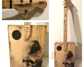 Old Crow Cigar Box Guitar
