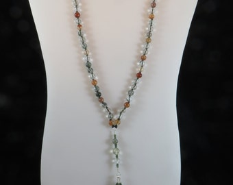 Gemini/Mercury Mala or Prayer Beads