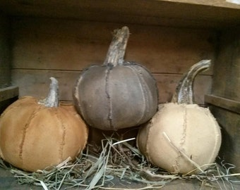 Primitive Pumpkins Fall Halloween Rustic Fall decor Faap Hafair