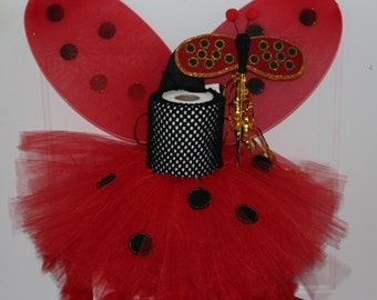 Ladybug TuTu Dress, Baby costumes,Glittery,Princess,Red,Black,Cute,Infant Dress, Homemade,Halloween,First Birthday,Princess,Toddler