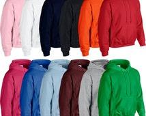 Plain Mens Womens Boys Girls Hooded Sweatshirt Brand New Hoodie Hoody Sweat Top