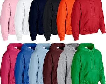 Men's Plain Hoodie, Plain Hoodie, Blank Pullover, Cheap Hoodie, Mens Womens Boys Girls Hooded Sweatshirt Brand New Hoodie Hoody Sweat Top