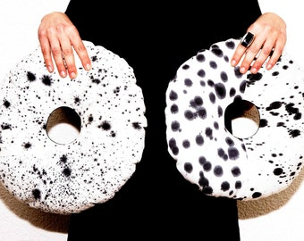 Cookies and cream donuts- Donuts, Doughnut Pillow, Donuts Cushion ,Decorative cushion for Home Decor