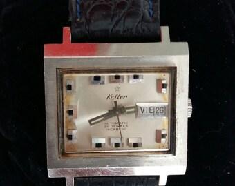 Vintage Men's Watch Automatic ,Kalter Automatic 25 Jewels Incabloc