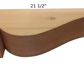 Cedar Rafter Tails  (Smooth)