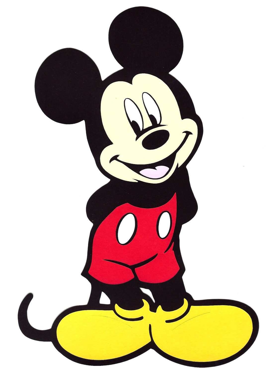Free Shipping 6 Quot X10 Quot Layer Paper Die Cut Out Mickey