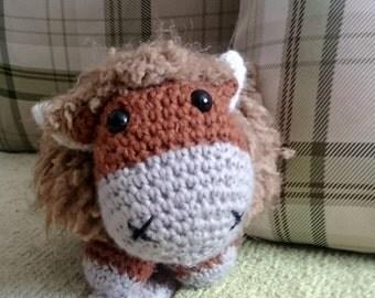 Amigurumi Highland Cow : Amigurumi crochet guinea pig duo pattern from SonsPopkes ...