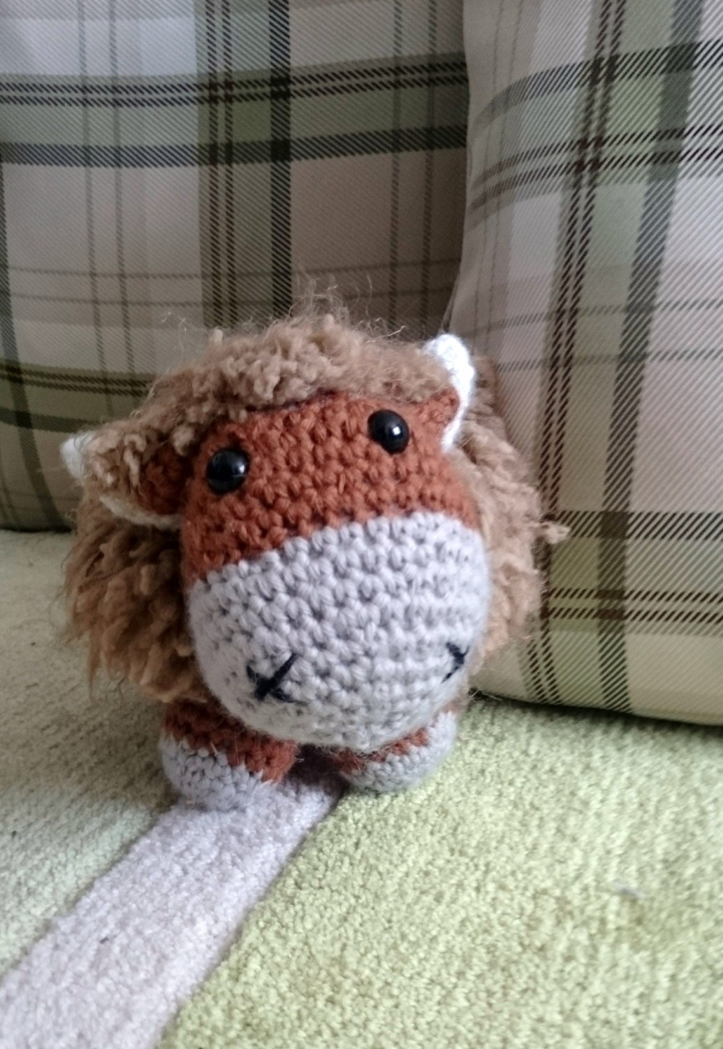 Amigurumi Easter Egg Pattern Free : highland cow crochet pattern **pattern only** from ...