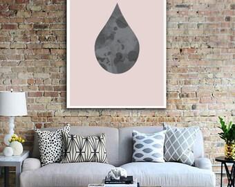Minimalist Poster, Wall Art, Scandinavian Design, Wall Decor, Minimal Art, Inspirational Print, Illustration Print.