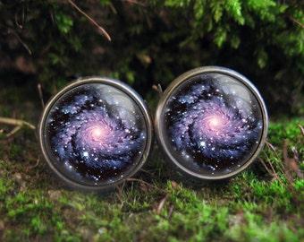 galaxy stud earrings tiny space earrings nebula stud earings astronomy post earrings galaxy earrings astronomy earring posts galaxy jewelry