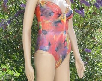 One piece SWIMSUIT retro Triumph swimwear Vintage womens