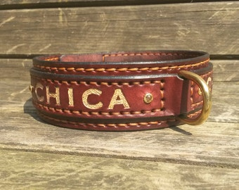 Finest Leather Dog collar